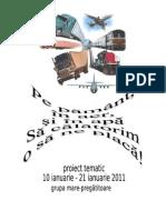 PROIECT TEMATIC Albinute Transport