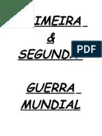 1ª E 2ª GEUERRA MUNDIAL