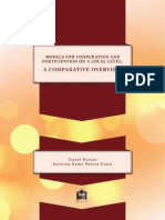 Models for Cooperation and Participation on a Local Level a Comparative Overview 2011