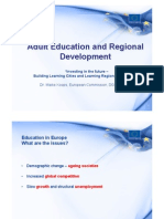 Adult Education and Regional Development