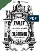 Gounod - Faust - Piano Vocal Score