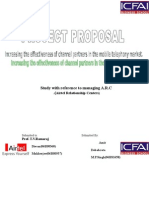 Project Proposal Airtel