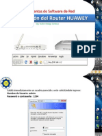 Router Huawey