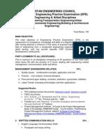 Curriculm of Civil Engg& Allied Discipline
