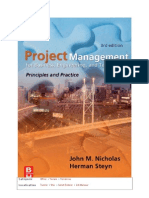 Handbook Project Management