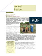 The History of Microfinance[1]