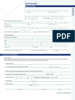 Academic Records Form Nurses