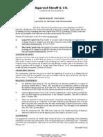 Budget 2004-05 Update