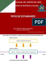 2 TIPOS DE ESTANDAR 2011