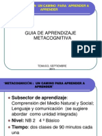 Guis de Aprendizaje Metacognitivat