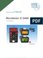 G460 Manual
