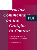 Proclus Commentary on the Cratylus in Context