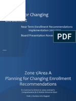 PlanningForChanging Enrollment