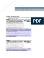 Q&A Pharmacology 2