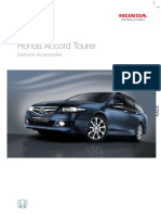 Honda Accord Tourer 7th Gen Facelift Accessories
