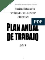 Plan Anual de Trabajo 2011 Ccb