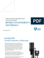 Em . 06 . Tensile Properties of Materials