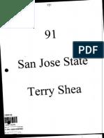 1991 San Jose State Offense