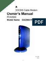 pcx2500manual
