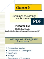 Lceture Slide_Consumption Savings and Investment