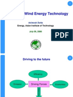Basics of Wind Technology