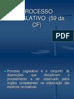 PODER LEGISLATIVO Processo Legislativo