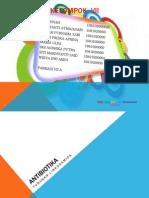 ANTIBIOTIK linkosamid, polien, antramisin dan antrasiklin