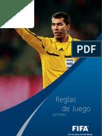 Reglas de Juego Fifa 2011-2012