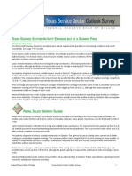 Texas Service Sector Outlook - October 2011