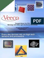 Veeco TSV Metrology Semicon West 2010