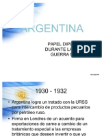 ARGENTINA relaciones diplomáticas Segunda Guerra Mundial