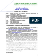 2012 Usp Rp Manual Do Candidato