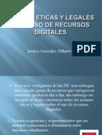 Normas Eticas y Legales Para Uso de Recursos Digitales