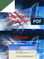 Funciones de Windows