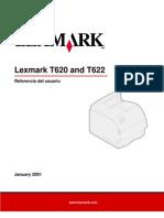 LexmarkT620-T622