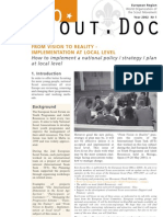How to implement a national policy / strategy / plan at local level - EuroScoutDoc/2007