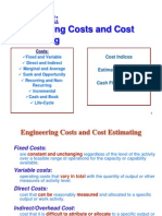 Ch2-Engineering Costs and Cost Estimating