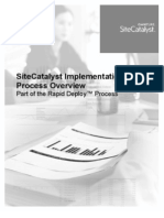 Site Catalyst Implementation Overview v3.0