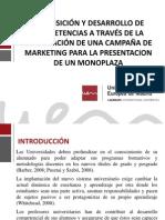 ADQUISICIÓN Y DESARROLLO DE COMPETENCIAS A TRAVÉS DE