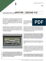Guida al Computer - Lezione 4