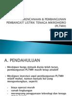 Perencanaan Pembangunan PLTMH