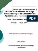 Gestión Cadenas Productiva - Econ Carlos Marquez