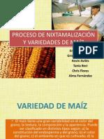 PROCESO DE NIXTAMALIZACIÓN Y VARIEDADES DE MAÍZ