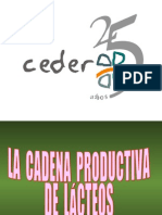 La Cadena Productiva Lacteos - Econ Jose Catacora