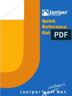 Juniper Networks Quick Reference Guide