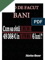 Cum Sa Obtii Minim 49 368 Euro in Maxim 6 Luni - Www.streetofmoney.com_book_ro by Marian Bucur