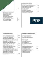 Umbanda - Pontos - Letras de Pontos de Exú - 01