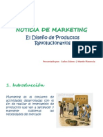 NOTICIA DE MARKETING - El diseño de productos revolucionarios