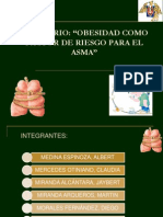 Seminario Obesidad Como Factor de Riesgo Para El Asma