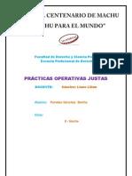 PRACTICAS OPERATIVAS JUSTAS